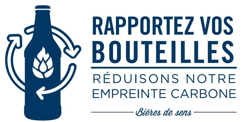 Ramene ta bouteille, ensemble réduisons notre impact carbone, projet de consigne Deck & Donohue